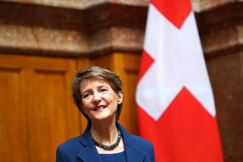 Simonetta Sommaruga, Suiza.