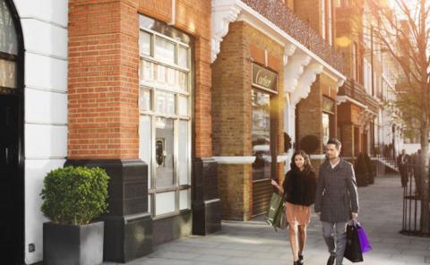 Sloane Street, Londres.