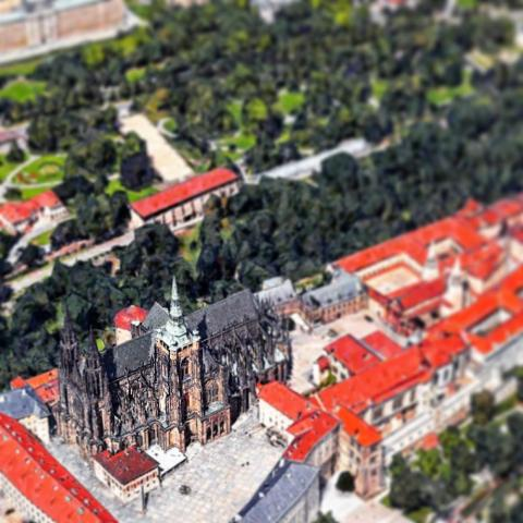 St. Vitus Cathedral in Prague.