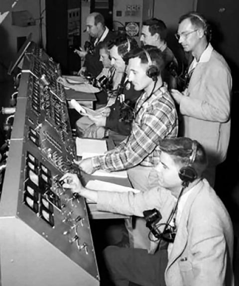 Technicians and engineers oversaw the liftoff of Explorer 1 from a control room at Space Launch Complex 26 at what was then known as the Cape Canaveral Missile Annex in Florida.