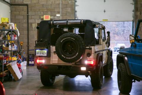 """""""That's really what the niche and the special sauce is: if you want [a vintage G-Wagen]...to be reliable and last year for 20 years, it has to be fully restored and that's where Exhibition Motor Company comes in,"""" he continued."""