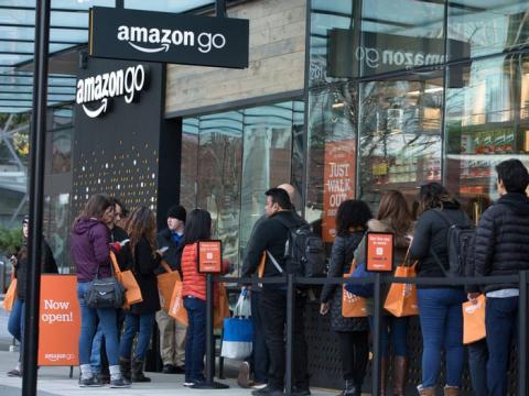 Las tiendas de autoservicio de Amazon se están extendiendo por todo el mundo.