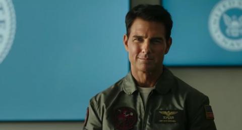 """Tom Cruise en """"Top Gun: Maverick""""."""