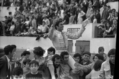 El torero Paquirri en 1971.