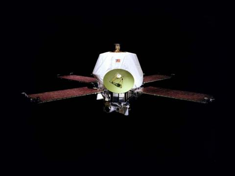 The unmanned Mariner spacecraft became the first to orbit another planet (Mars) in 1971.
