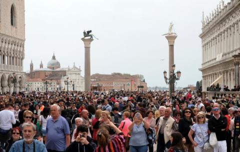 Venecia es el claro ejemplo de la turistificación.