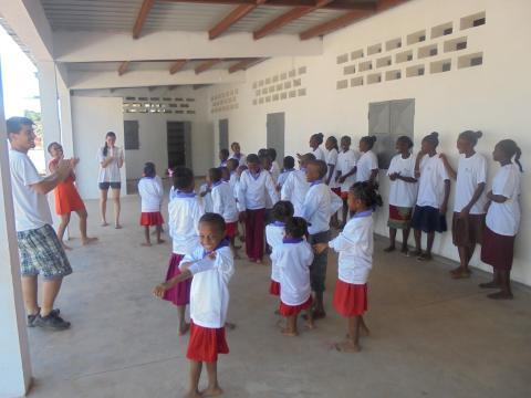 Voluntariado en Madagascar: en una escuela