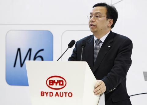 Wang Chuanfu, presidente de BYD.