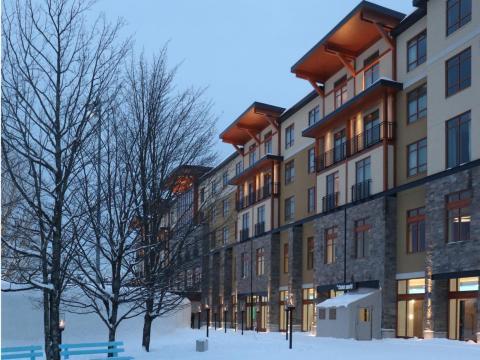 El Hotel Vacartier es un hotel de cuatro estrellas.