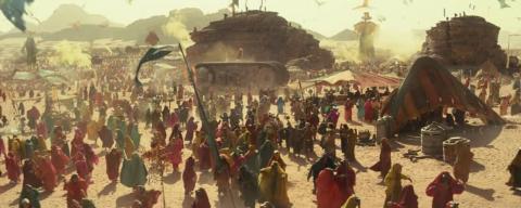 """El festival se parece mucho a la versión de """"Star Wars"""" de Burning Man."""