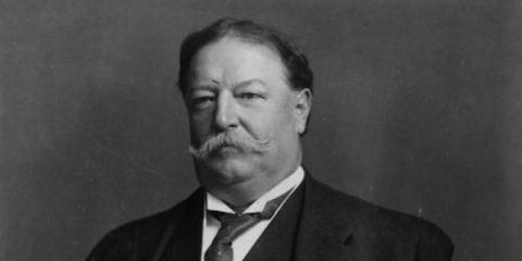 William Howard Taft, 27º presidente de los EE.UU., fue el líder más importante del país.