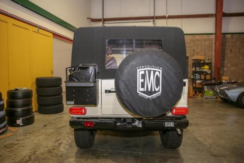 """'Wow, I turn and it turns!'"""" some customers have said to Levin during test drives, shocked by the easy handling of Expedition Motor Company's restored G-Wagens."""