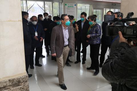 Zhong Nanshan, director del equipo de investigación que investiga el virus de Wuhan.