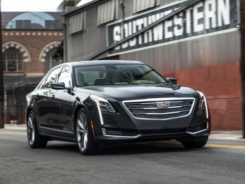 2017 Cadillac CT6.