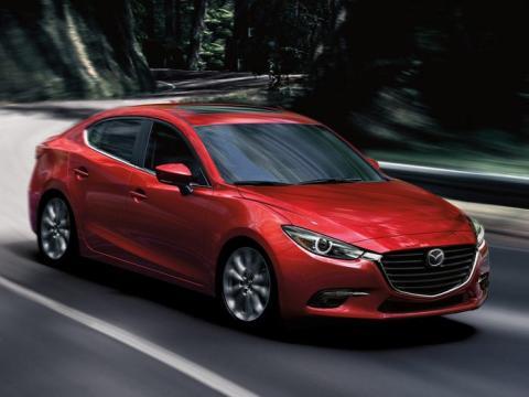 2017 Mazda 3.