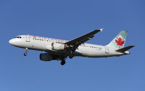 Air Canada avión