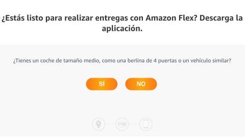 Amazon Flex coche de reparto