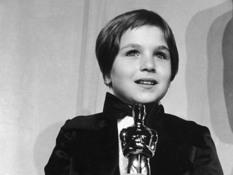 Y la ganadora más joven fue Tatum O'Neal con 10 años por 'La Luna de Papel' en 1974 con el premio a la mejor actriz de reparto