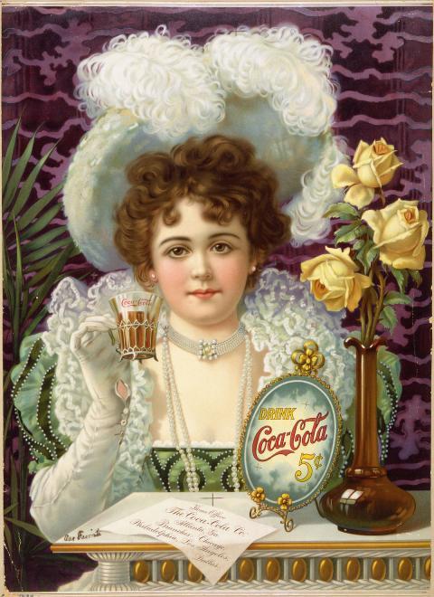 Anuncio Coca-Cola 1900