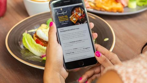 Aplicación para pedir comida en el restaurante.