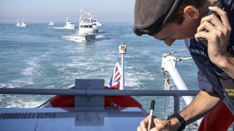 Armada británica.