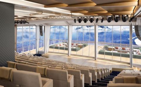 A bordo se ofrecen conferencias del alto nivel sobre destinos.