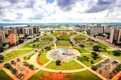 Brasilia, capital de Brasil