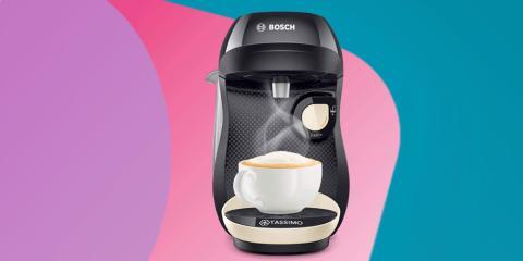 Cafetera de cápsulas Bosch TAS1003 TASSIMO Happy