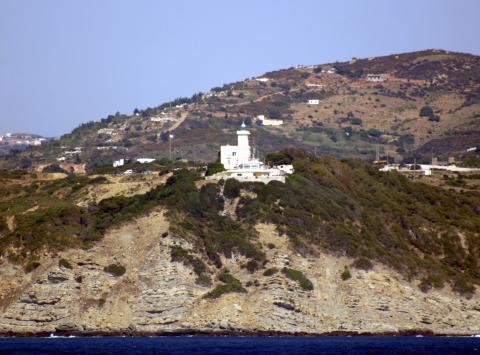 Cape Malabata, en Tánger, posible punto de llegada del puente desde Andalucía.