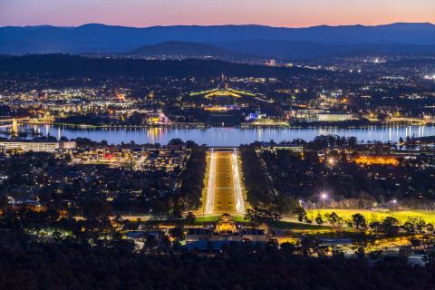 La capital de Australia, Canberra