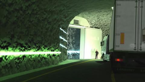 Centro de datos en una mina