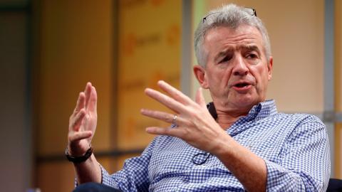 El CEO de Ryanair, Michael O'Leary.