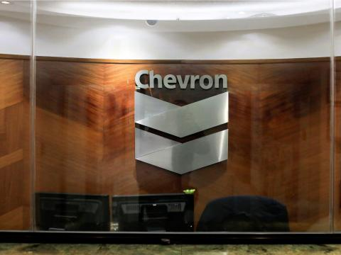 """A Chevron office, also in London, asked its several hundred employees to work from home after an employee was tested for coronavirus. """"Our primary concern is the health and safety of our employees and we are taking precautionary"""