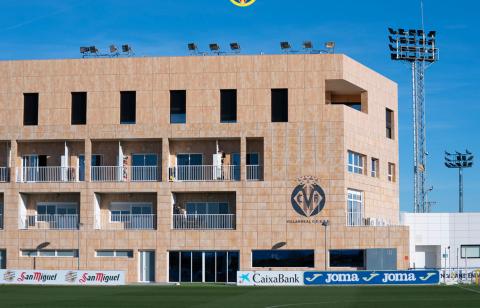 Ciudad deportiva del Villareal CF.