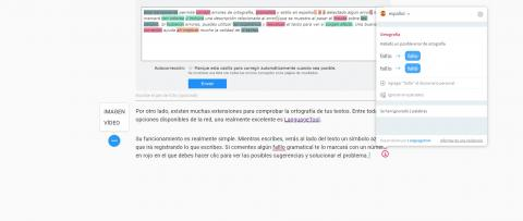 Cómo comprobar la ortografía de tus textos a algunas webs o extensiones para Chrome