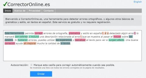 Cómo corregir posibles fallos gramaticales con extensiones o páginas web