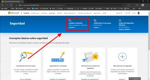 Cómo establecer una fecha de caducidad a una contraseña en Windows 10