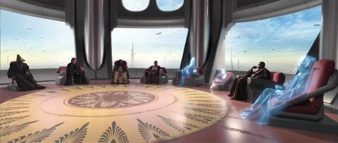 Consejo Jedi - Star Wars