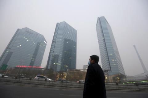 contaminación ciudad