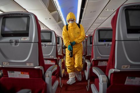 Las restricciones de las aerolineas por el coronavirus dispara el interés por los vuelos privados