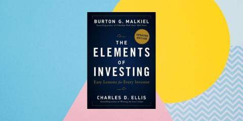 """""""The Elements of Investing: Easy Lessons for Every Investor"""" ('Los elementos de la inversión: lecciones fáciles para todos los inversores') por Burton Malkiel y Charles Ellis"""