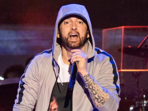 Eminem lanzó 'Rap God' en 2013.