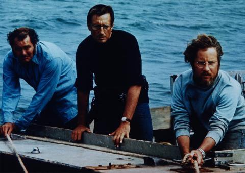 Un fotograma de la película de 'Tiburón'