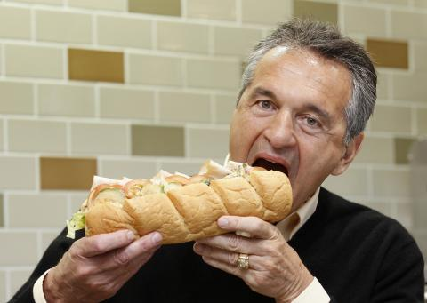 Fred DeLuca, Subway.