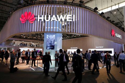 Stand de Huawei durante la pasada edición del Mobile World Congress de Barcelona.