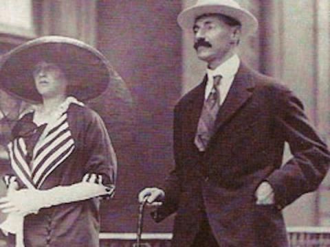 Juan Jacobo Astor IV y su nueva esposa Madeleine estaban de luna de miel.