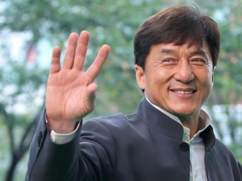 Jackie Chan también tiene más de un récord mundial.