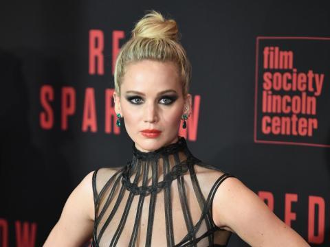 Jennifer Lawrence interpretó a Katniss Everdeen en 'Los juegos del hambre'.