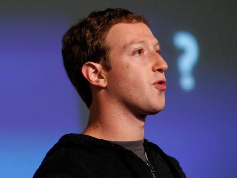 Joven Mark Zuckerberg