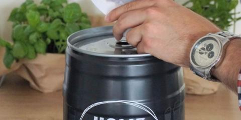 Kit para elaborar cerveza artesana